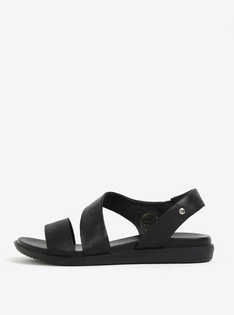 Černé kožené sandály Pikolinos Antillas