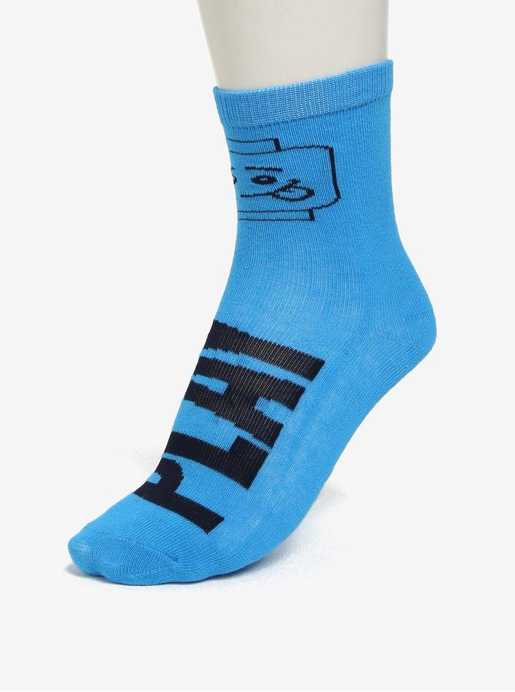 Sada tří párů klučičích ponožek v modré, žluté a šedé barvě Lego Wear Aiden