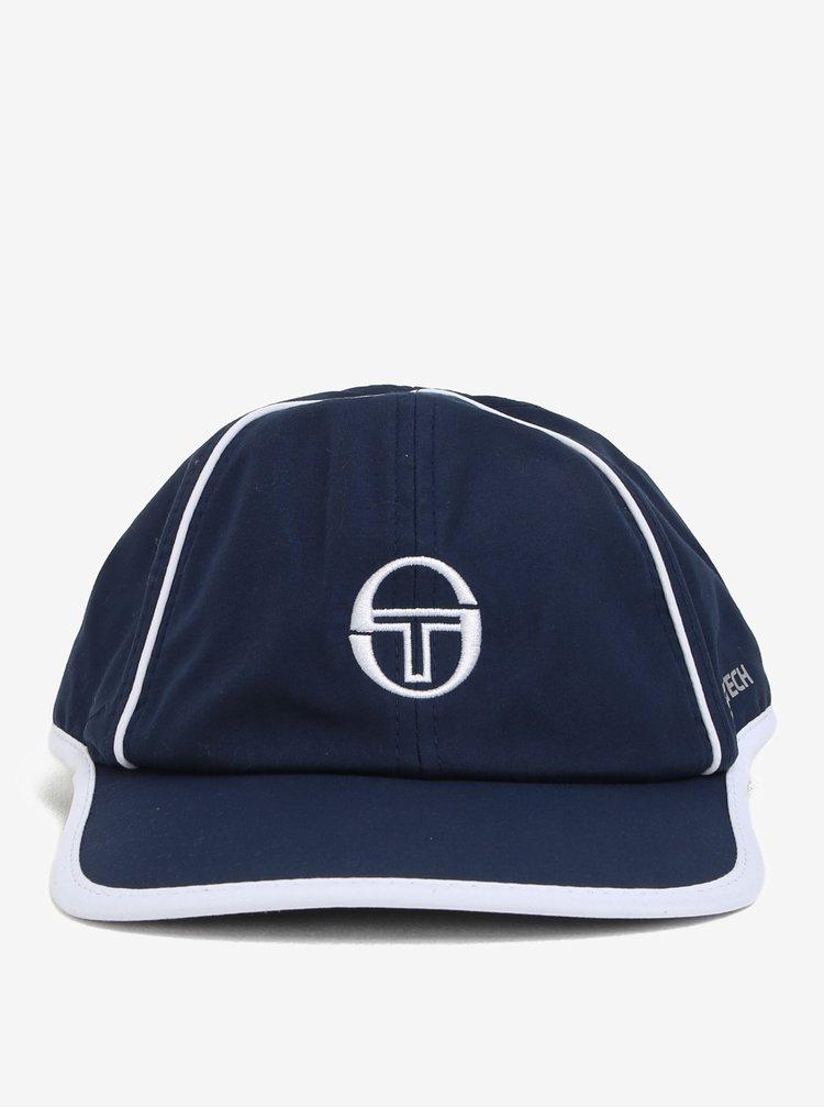 Tmavě modrá pánská kšiltovka s výšivkou Sergio Tacchini Club Tech
