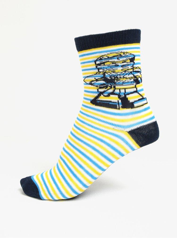 Sada tří párů klučičích vzorovaných ponožek Lego Wear Aiden