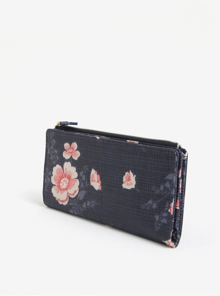 Modrá květovaná peněženka Cath Kidston