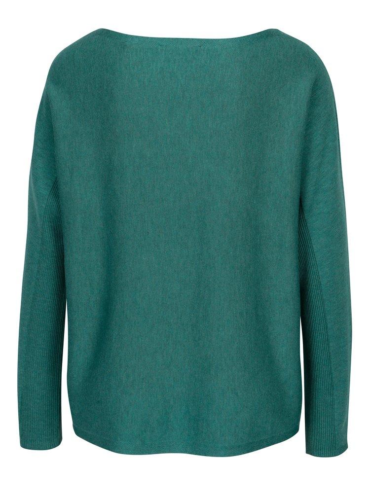Petrolejový dámský lehký oversize svetr s.Oliver
