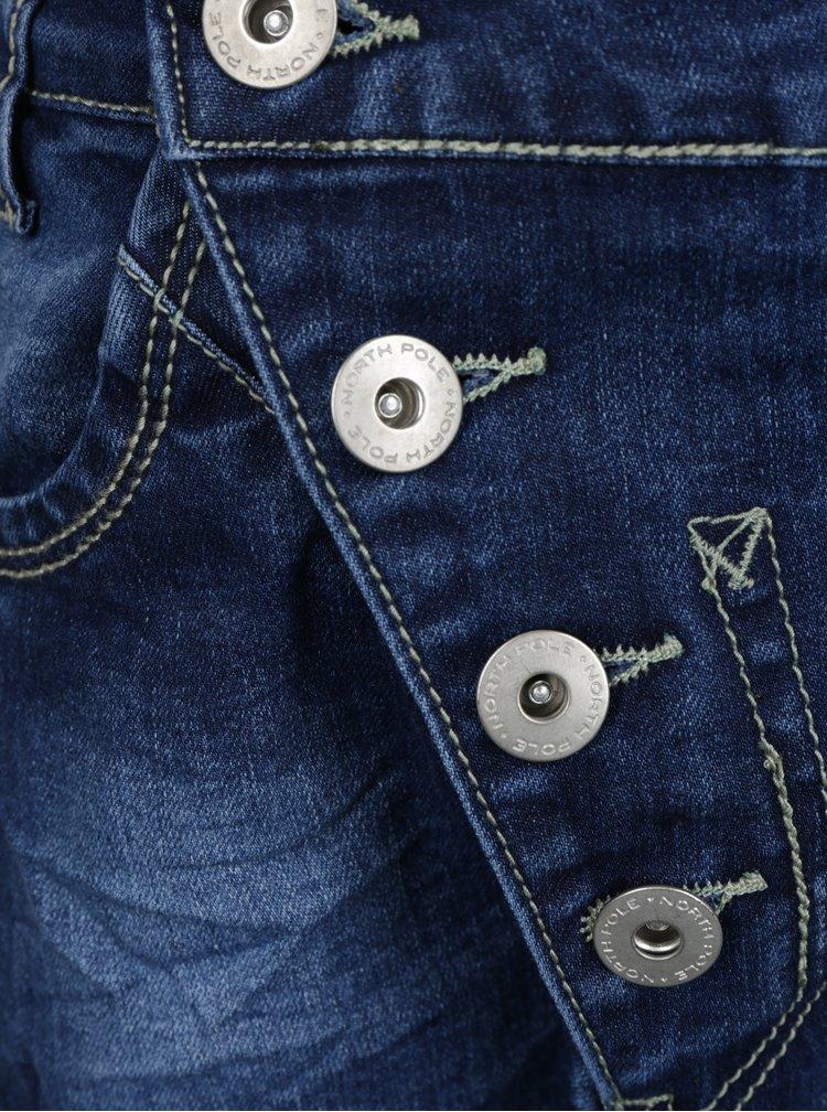 Modré klučičí džíny s nízkým sedem North Pole Kids