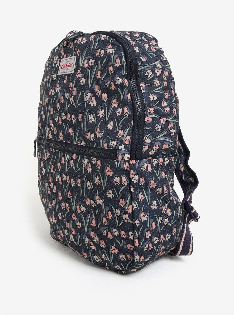 Tmavě modrý dámský vzorovaný batoh Cath Kidston