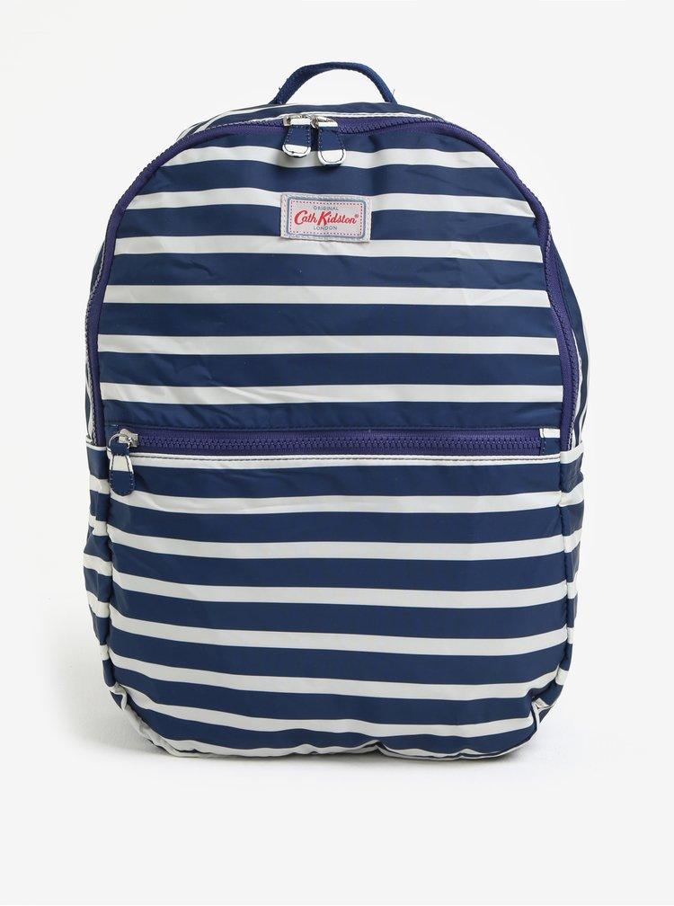 Krémovo-modrý dámský vzorovaný batoh Cath Kidston