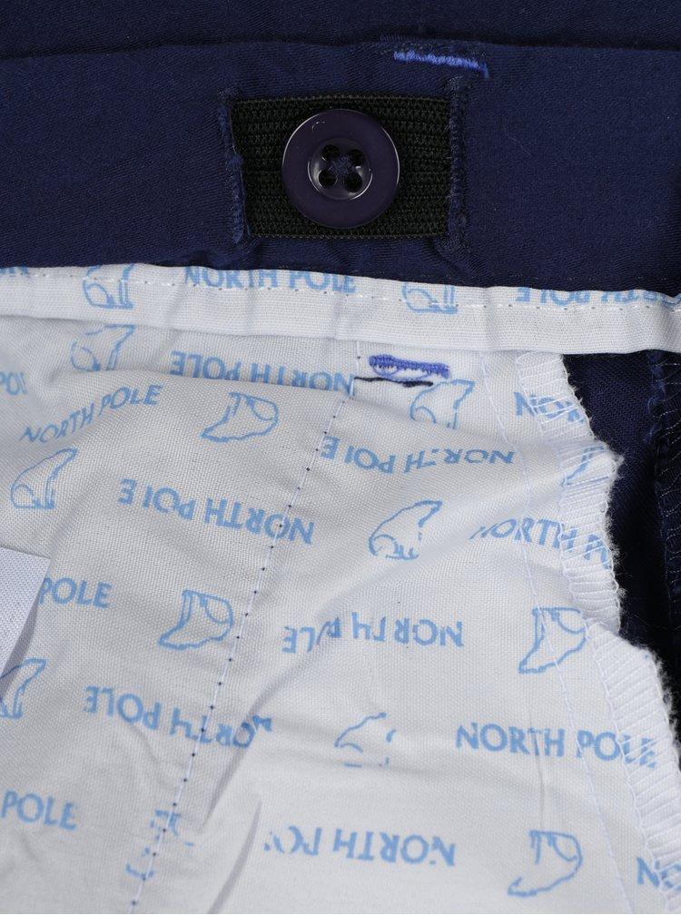 Tmavě modré klučičí kraťasy s kapsami North Pole Kids