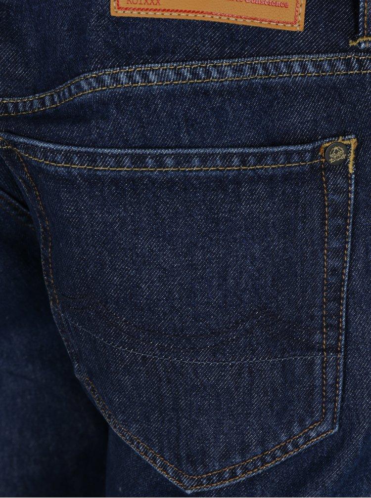 Tmavě modré pánské džíny Kings of Indigo Joshua