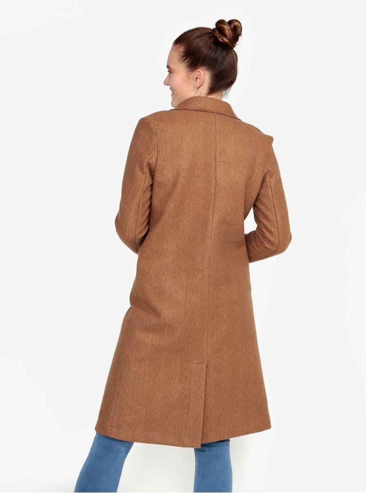 Světle hnědý kabát ZOOT