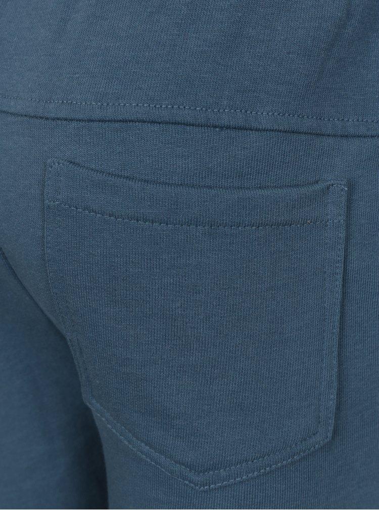 Modré klučičí tepláky small rags Gustav
