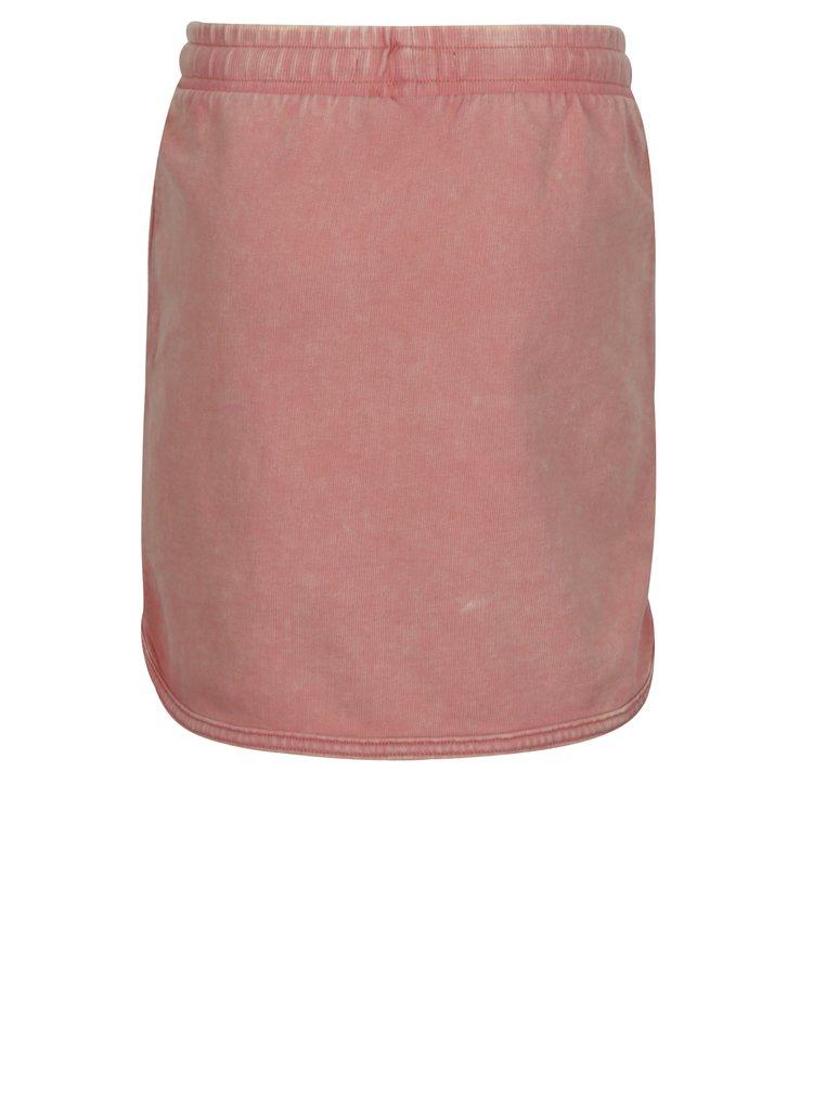 Růžová tepláková holčičí sukně small rags Gerda