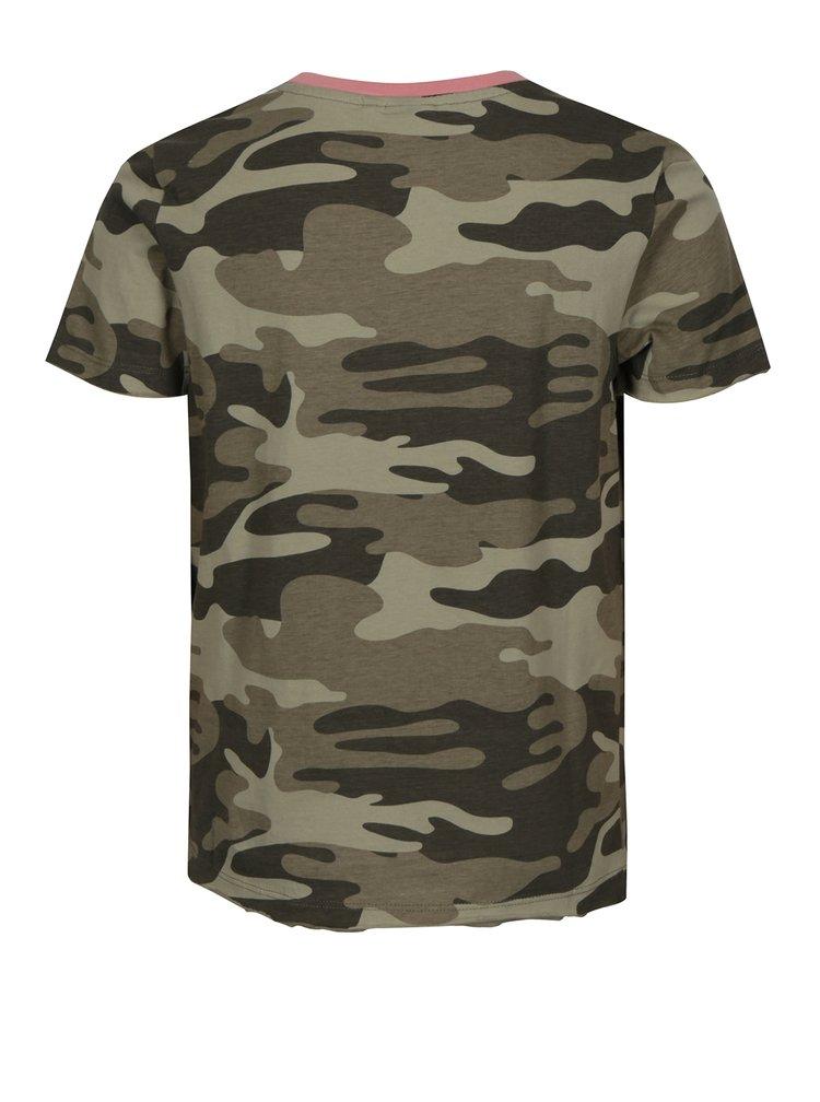 Zelené klučičí maskáčové tričko LIMITED by name it Molrik