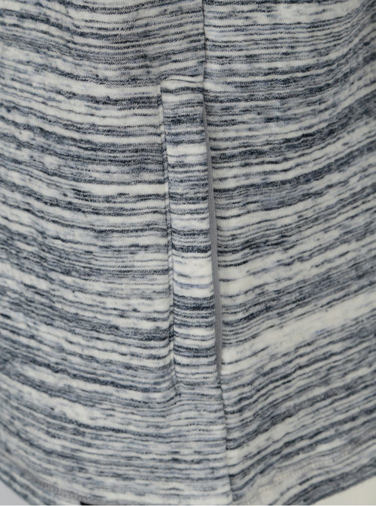 Modro-krémová pánská vzorovaná mikina Broadway Granate