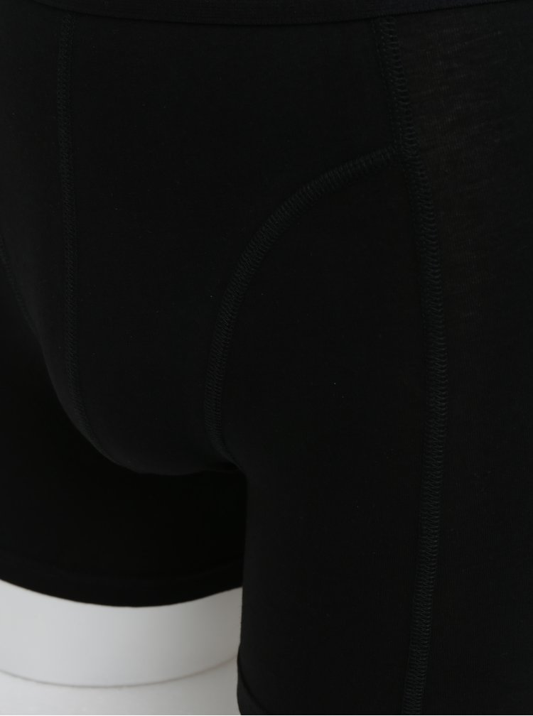 Sada tří boxerek v bílé, modré a černé barvě Björn Borg