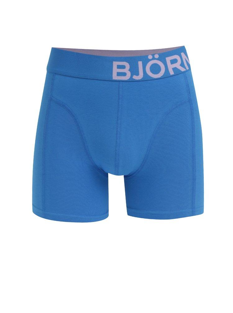 Sada dvou boxerek v modré a zelené barvě Björn Borg