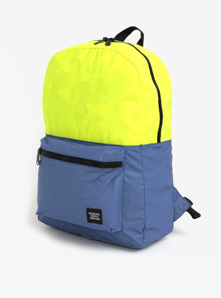 Žluto-modrý reflexní batoh Herschel Packable Daypack 24,5 l