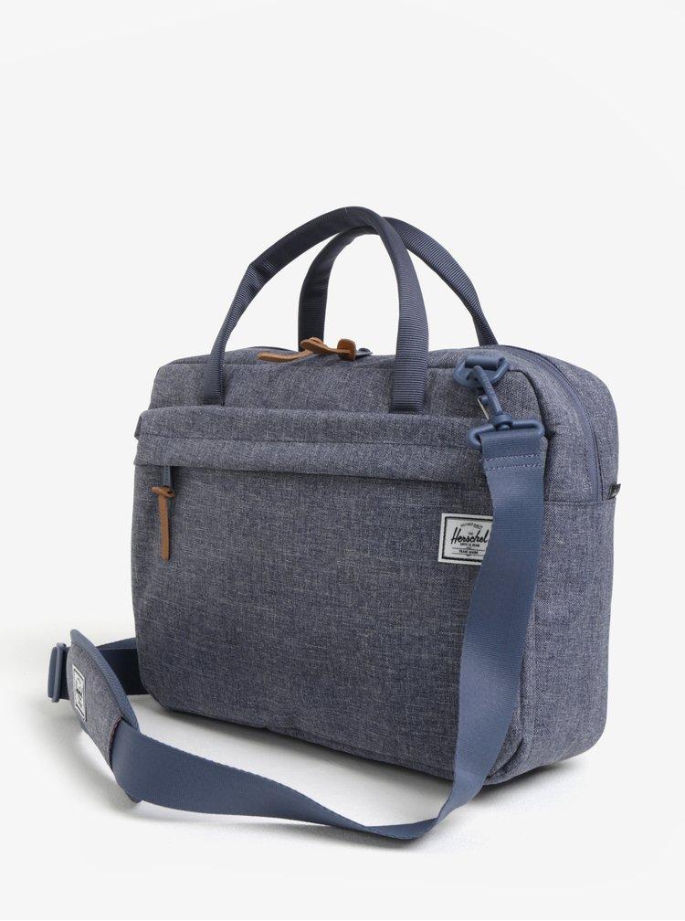 Modrá taška na notebook Herschel Gibson 15 l