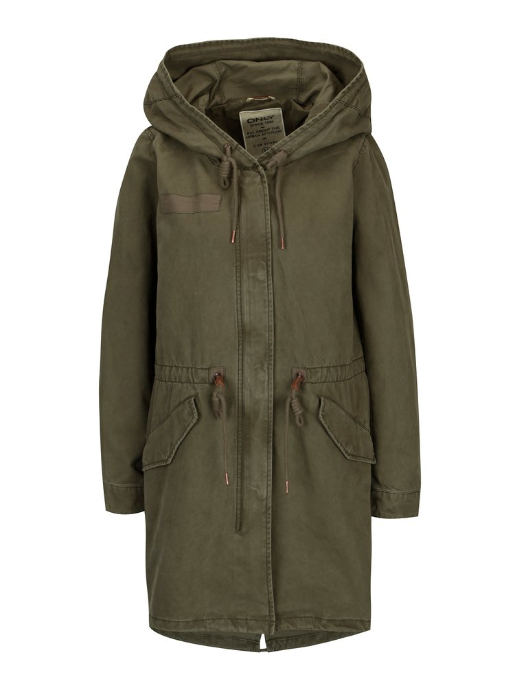 Khaki parka ONLY Favourite