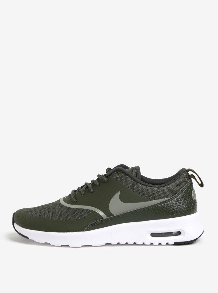 Zelené dámské tenisky Nike Air Max Thea