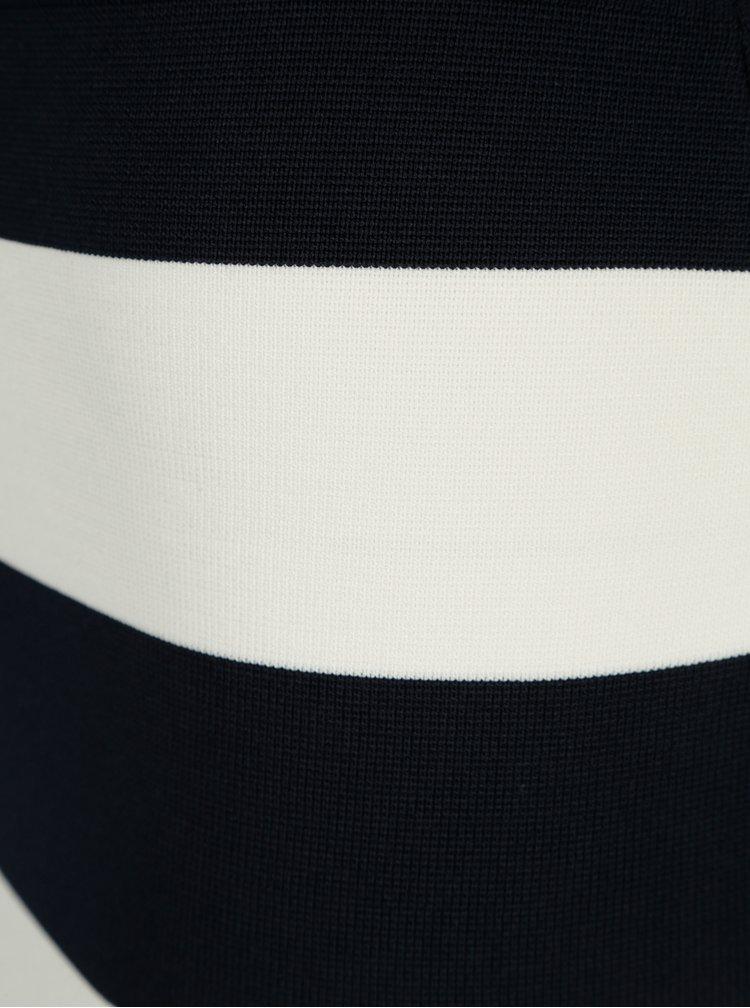 Krémovo-modrá pruhovaná sukně ONLY Laura