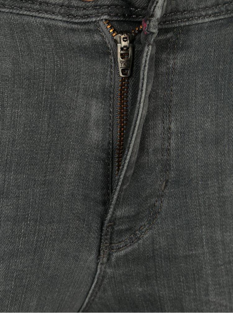 Šedé džíny ONLY Carmen