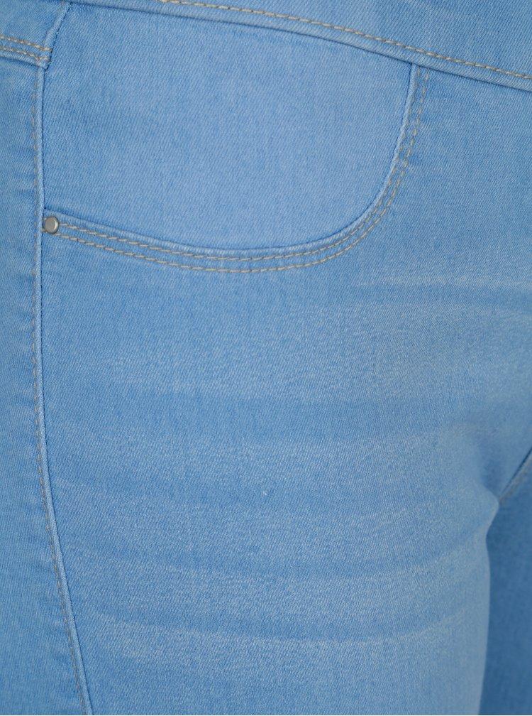 Světle modré jeggings Dorothy Perkins Petite