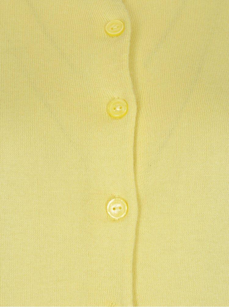 Žlutý dámský krátký kardigan Tom Joule