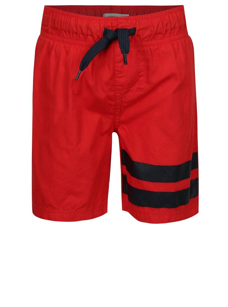 Červené klučičí plavky name it Zak
