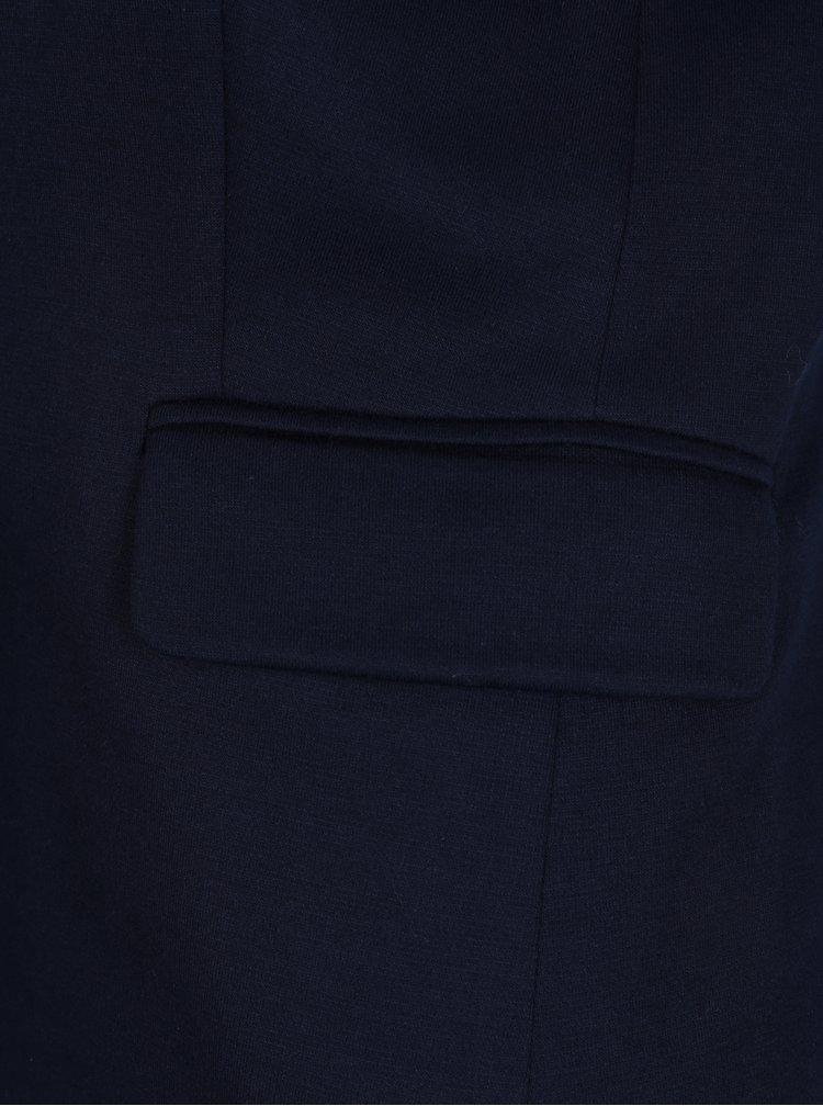 Tmavě modré dámské sako se vzorovanou podšívkou Tom Joule