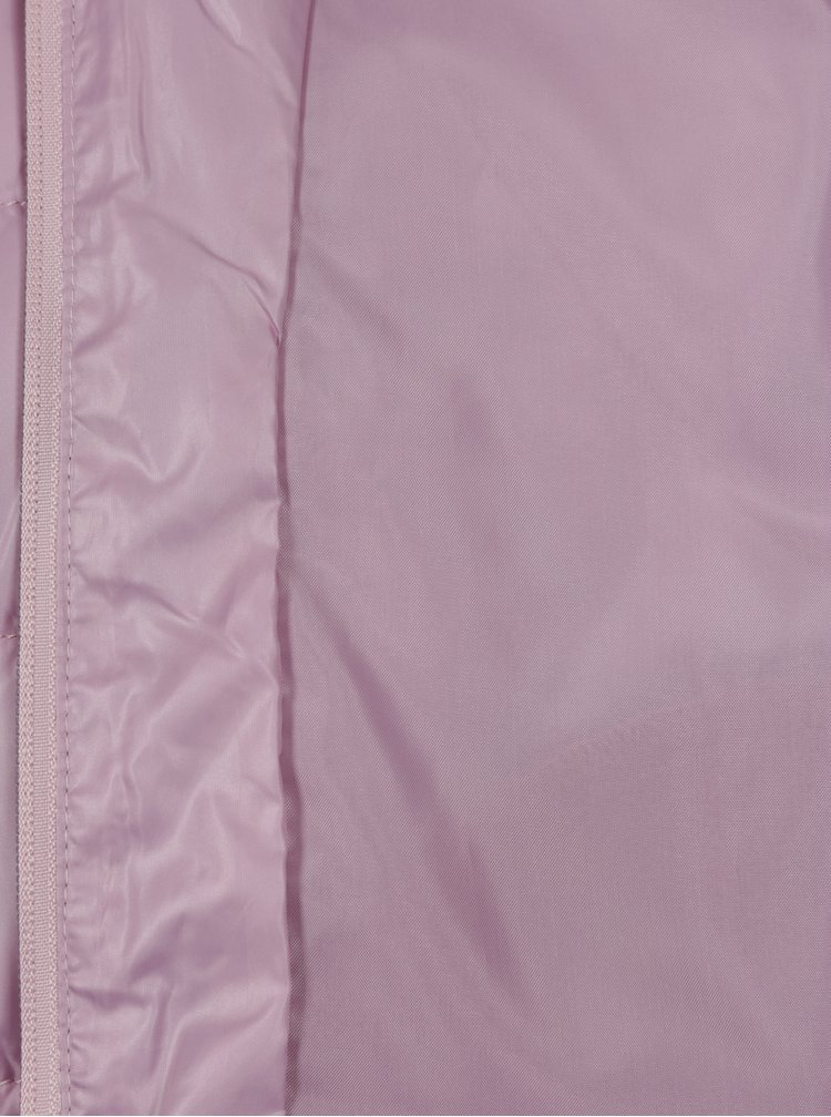 Růžová holčičí prošívaná vesta name it Mylan