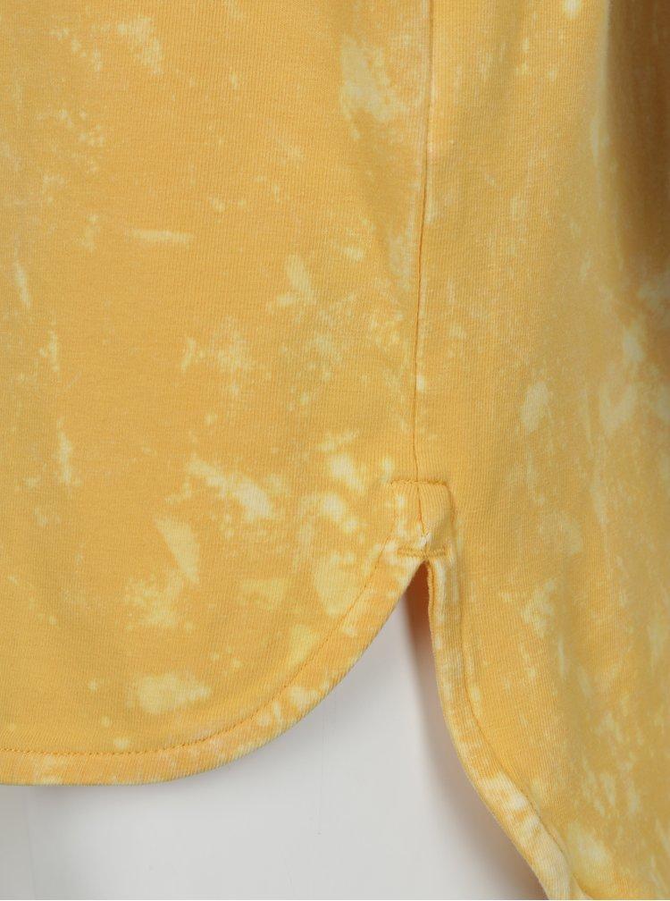 Žluté klučičí tričko s potiskem name it Havis
