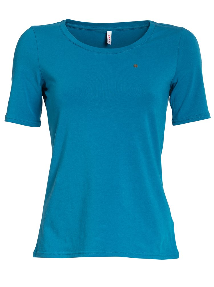 Modré basic tričko s krátkým rukávem Blutsgeschwister