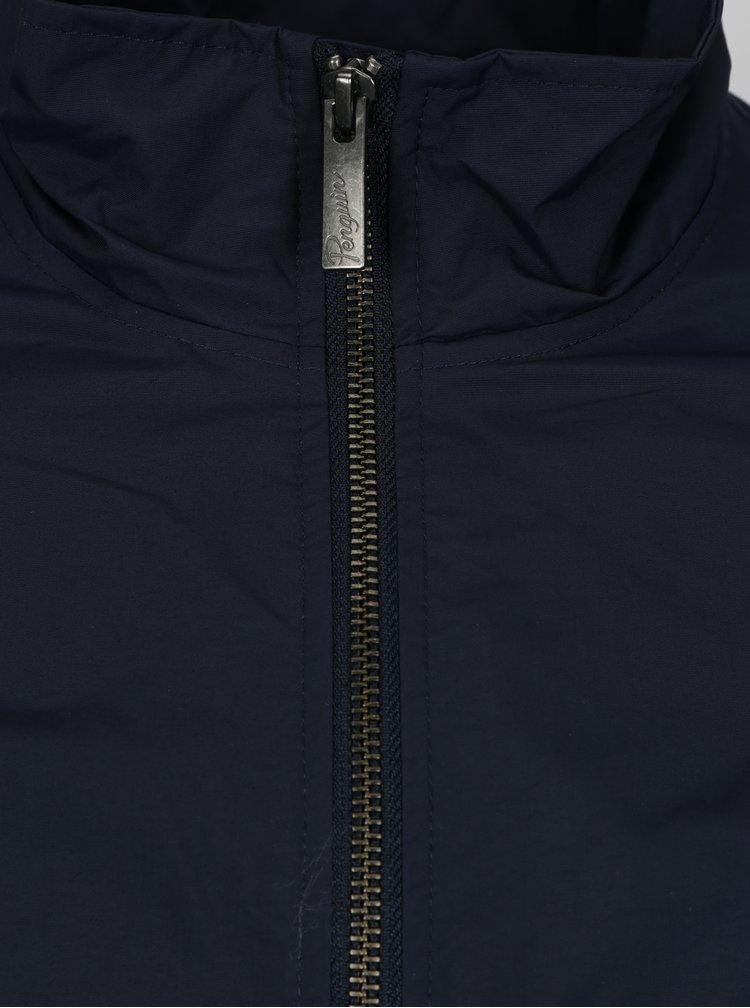 Tmavě modrá bunda Original Penguin Windcheater