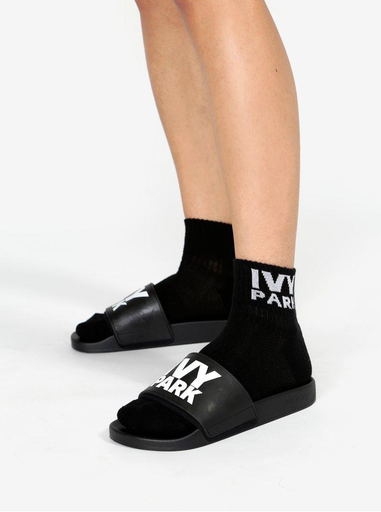 Sada tří párů kotníkových ponožek v černé, bílé a šedé barvě Ivy Park
