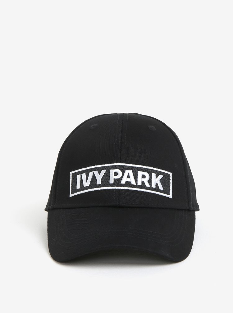 Čierna šiltovka so zaväzovaním na šnúrku Ivy Park