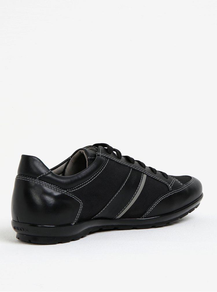 Pantofi sport negri pentru barbati - Geox Symbol A