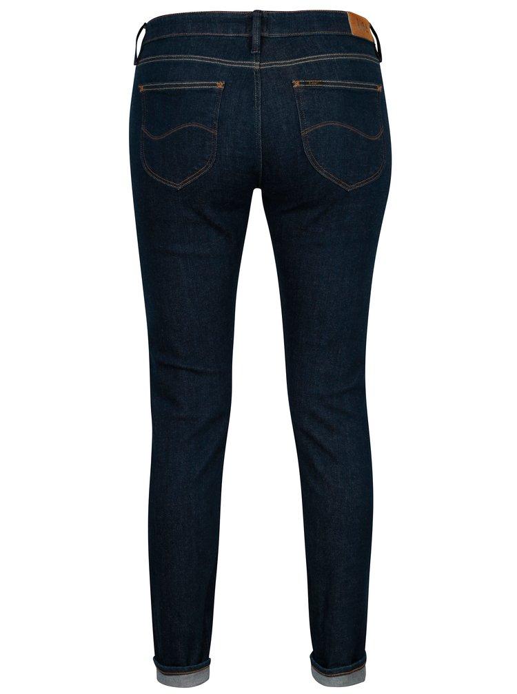 Tmavě modré dámské skinny džíny Lee Scarlett