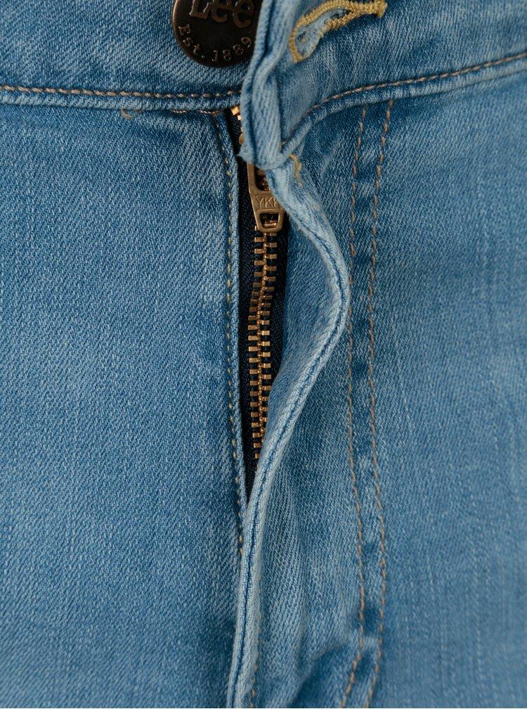 Světle modré pánské skinny džíny Lee Malone