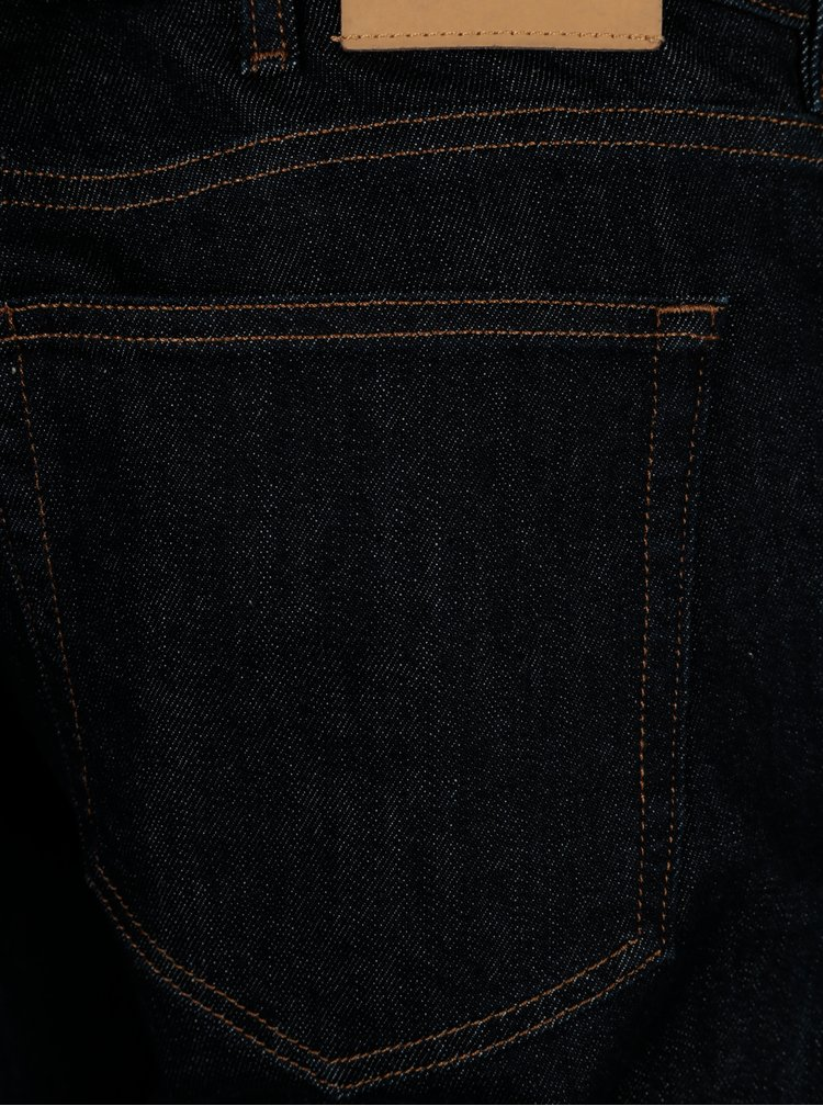 Tmavě modré pánské regular džíny GANT