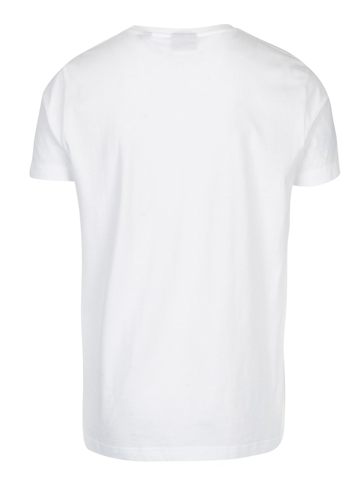 Bílé pánské slim tričko s výšivkou loga GANT