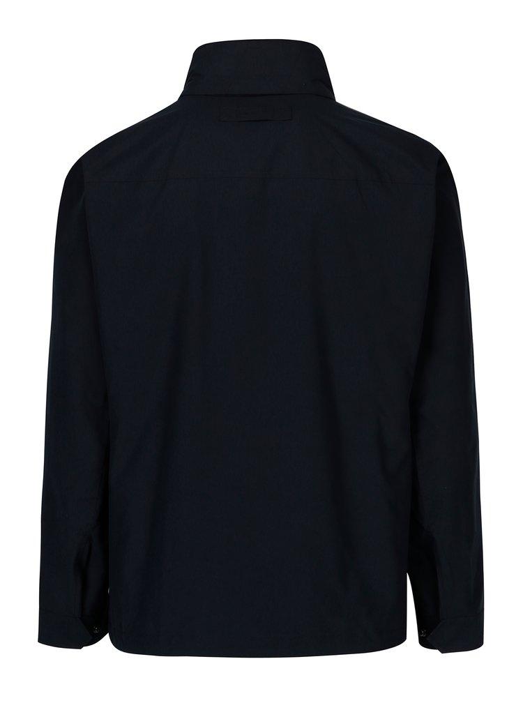Tmavě modrá pánská nepromokavá bunda