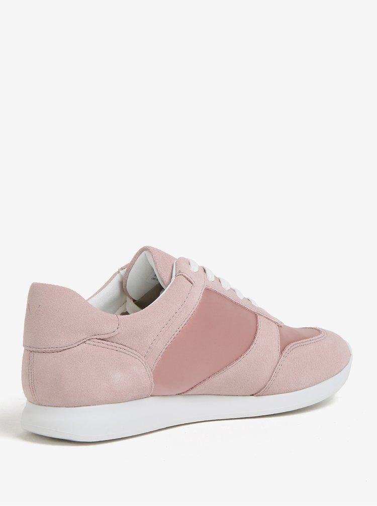 Světle růžové dámské tenisky Vagabond Kasai