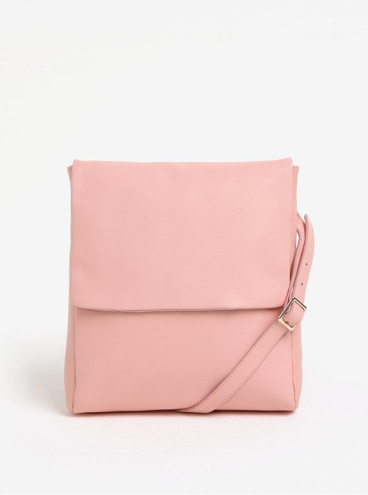 Růžová crossbody kabelka Vagabond Nice