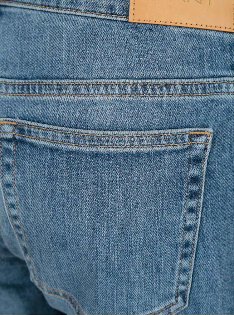 Světle modré dámské džínové kraťasy GANT