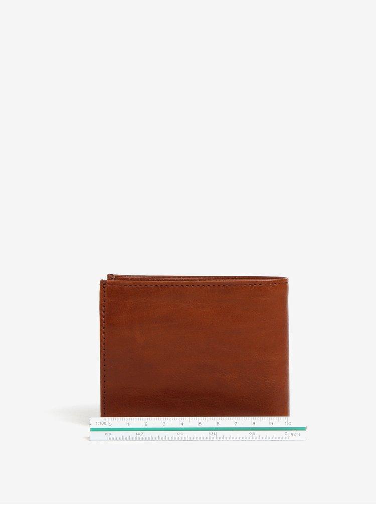 Světle hnědá pánská kožená peněženka Royal RepubliQ Alliance