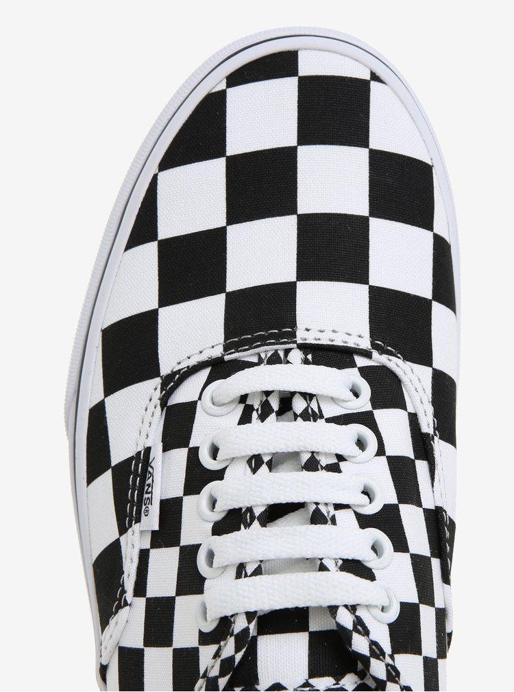 Černo-bílé pánské tenisky VANS Authentic