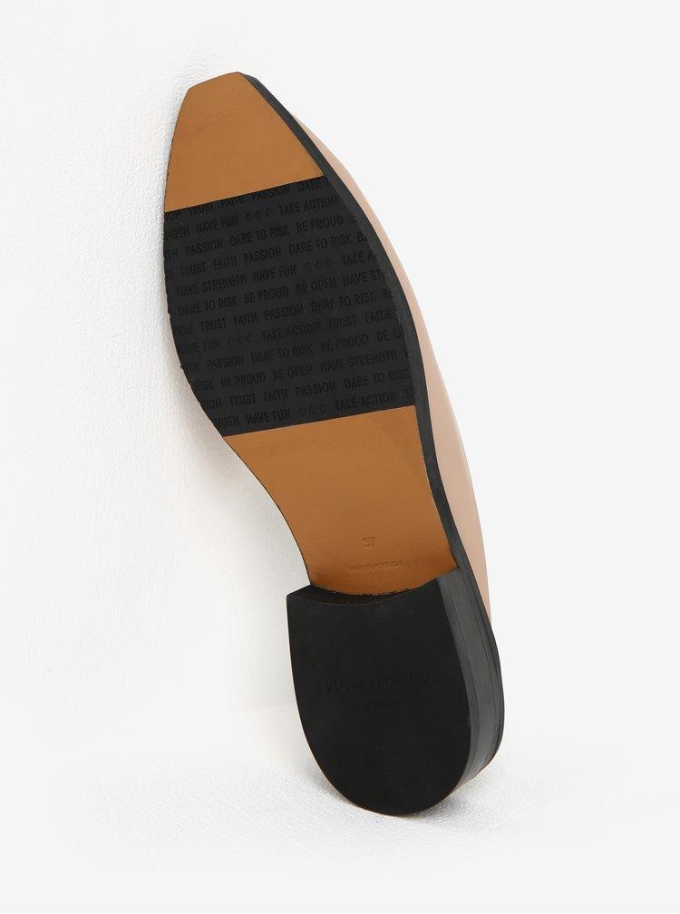Béžové dámské kožené pantofle Royal RepubliQ
