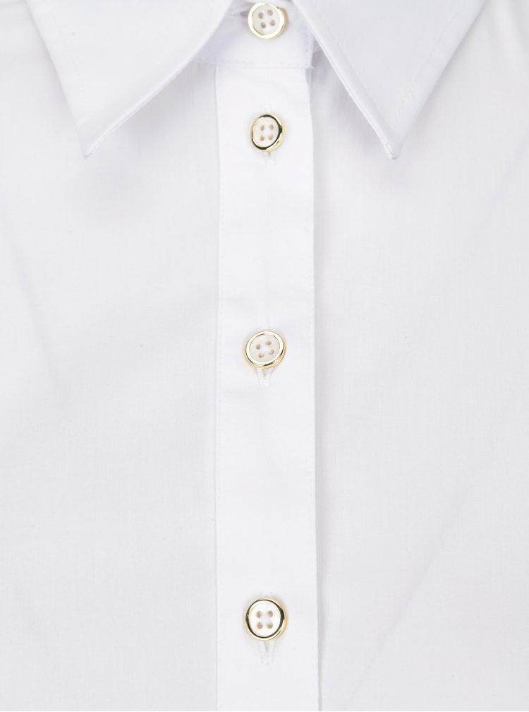 Bílé dámské košilové šaty Pietro Filipi