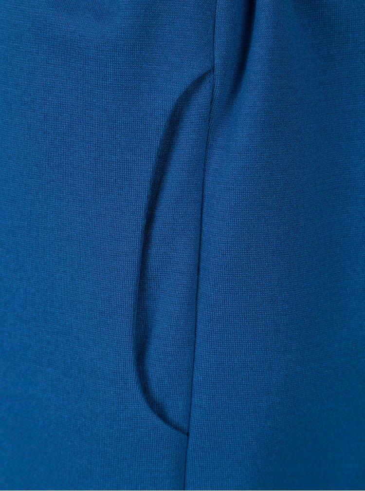 Modré dámské šaty s 3/4 rukávem Pietro Filipi