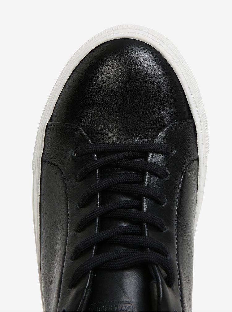 Černé dámské kožené tenisky Royal RepubliQ