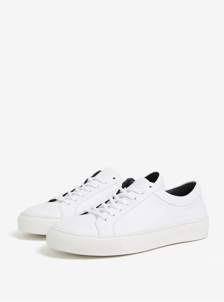 Biele dámske kožené tenisky Royal RepubliQ